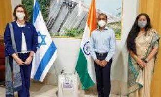 B'luru Israeli consulate donates oxygen concentrators to fight Covid