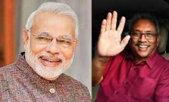 Prime Minister Narendra Modi congratulates President Gotabaya Rajapaksa on the first anniversary of assumption of Office