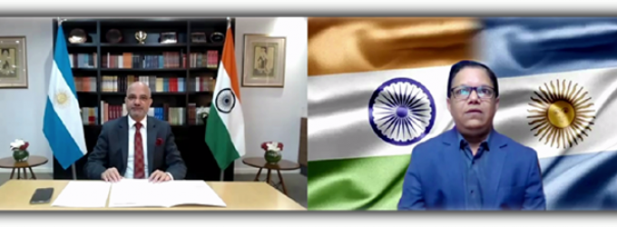 Video Interview : H.E. Mr. Dinesh Bhatia, Ambassador of India to Argentina in conversation with Ameya Sathaye, Editor-in-Chief, Sarkaritel.com & Diplomacyindia.com
