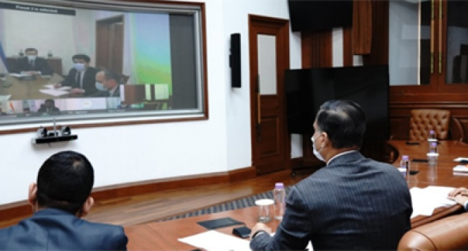 India-Uzbekistan hold Foreign Office Consultations through video conferencing