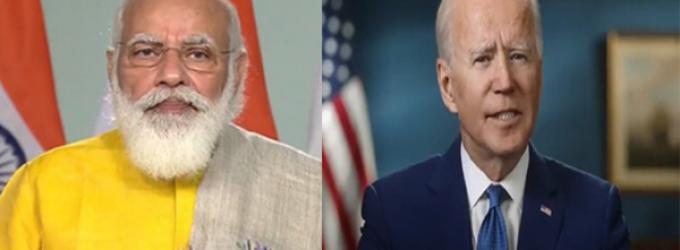 Biden tells Modi will work to strengthen India ties alongside Harris