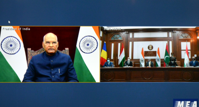 Envoys of Hungary, Maldives, Tajikistan, present credentials to President of India