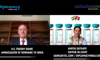 Denmark Ambassador Freddy Savne visit to Coronovirus vaccine Facility at Hyderabad, A trip organised by Ministry of External Affairs, Govt of India for foreign Envoys based in India.