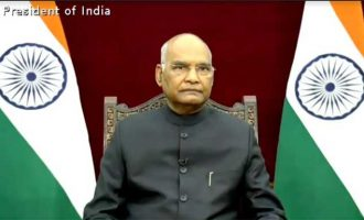 ENVOYS OF Guyana, Afghanistan, Dominican Republic and Fiji presents credentials to President of India
