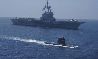 Three-day maritime exercise of Indian, French Navy ends