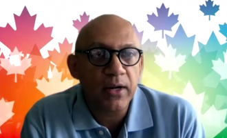 Canadian High Commissioner, Nadir Patel speaking on support to India in covid crisis