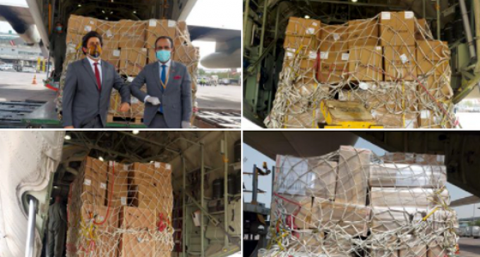 Oman send ventilators, vital medicines & equipments to India