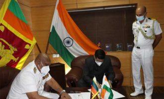 INDIA GIFTS MACHINERY PARTS TO SRI LANKA COAST GUARD