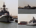 Kuwait supports India in covid crisis : #INSTARKASH arrives in Kuwait to carry emergency medical supplies