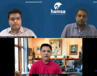 Interview with co-founders of Hamsa Asset Management Sudhakar Kadavasal / Anish Shankar on launching launched india's first alternate renewal energy fund.
