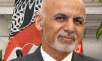 Ghani pledges to return to Afghanistan