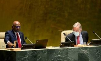 UNGA Prez to hold high-level event on universal vaccination in 2022