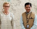 Ameya Sathaye, Publisher & Editor-in-Chief, Sarkaritel.com / Diplomacyindia.com meeting with H.E. Ritva Koukku-Ronde, Ambassador of Finland to India