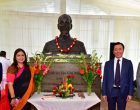 President Ho Chi Minh Bust Unveiled In India
