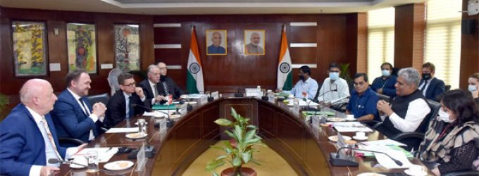 India, Denmark discuss cooperation against climate change