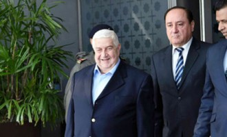 Walid Al Moualem, Syrian Deputy Prime Minister and Minister of Foreign Affairs arrives in New Delhi