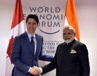Modi meets Canadian PM, Dutch queen