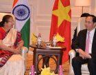 Lok Sabha Speaker Sumitra Mahajan calls on Tran Dai Quang, President of Vietnam