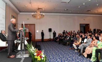 President of India, Ram Nath Kovind, during the India – Bulgaria Business Event at Sofia Hotel Balkan