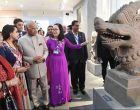 The President, Ram Nath Kovind visiting the Museum of Cham Sculpture, at Da Nang, in Vietnam