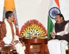 The Prime Minister of Bhutan, Dr. Lotay Tshering calling on the Vice President, M. Venkaiah Naidu