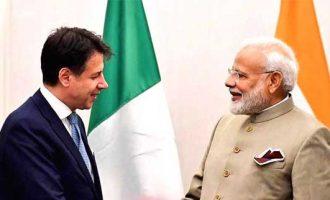 Modi holds bilaterals with Niger president, Italian PM