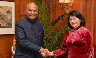 VICE PRESIDENT OF VIETNAM CALLS ON THE PRESIDENT