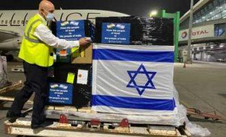 Israel's first consignment of oxygen generators arrives in Delhi