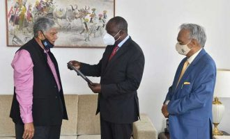 Kenya High Commissioner Willy Bett visits Vaccination Centre