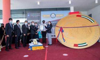 International Indian School-Abu Dhabi enters Guinness records