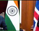The Ambassador-designate of Iceland, Gudni Bragason presenting his credentials to the President, Ram Nath Kovind
